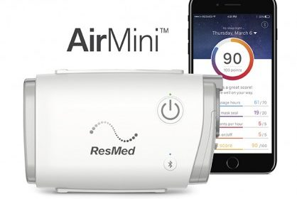 ResMed AirMini portable CPAP for nasal mask users